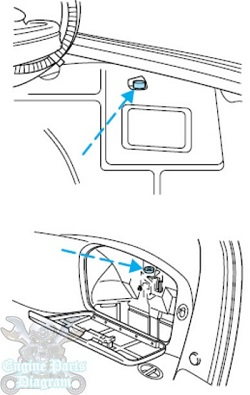 Fuel Pump Inertia Switch Reset And Location On Ford Taurus on ford taurus fuse panel diagram