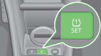 2015 Skoda Citigo tpms reset button