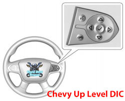 chevy tpms reset button up