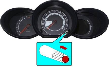 service wrench light reset