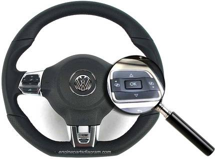 reset oil service light on vw with steering wheel