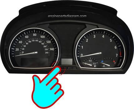 S/R button on dash